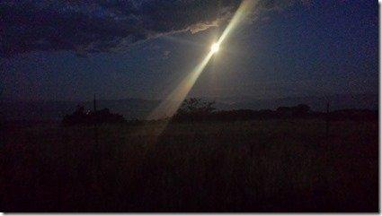 moon not sun!