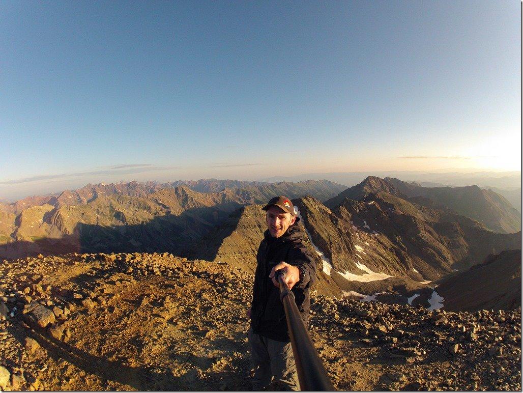 Castle Peak Selfie