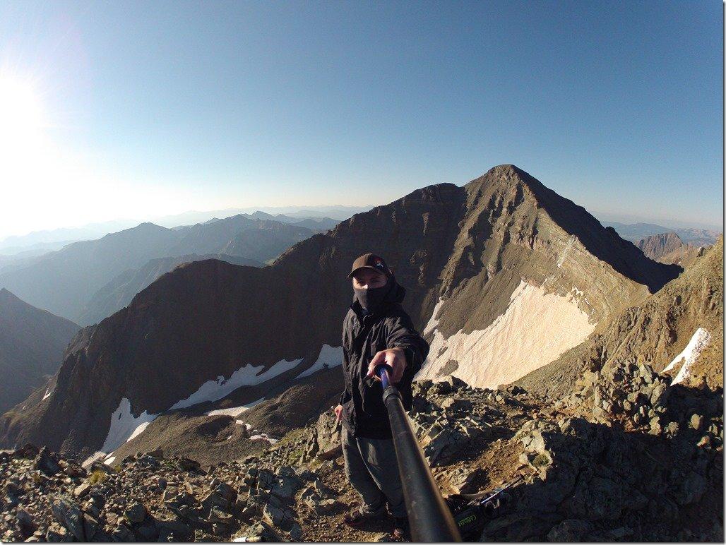 Conundrum Peak Selfie