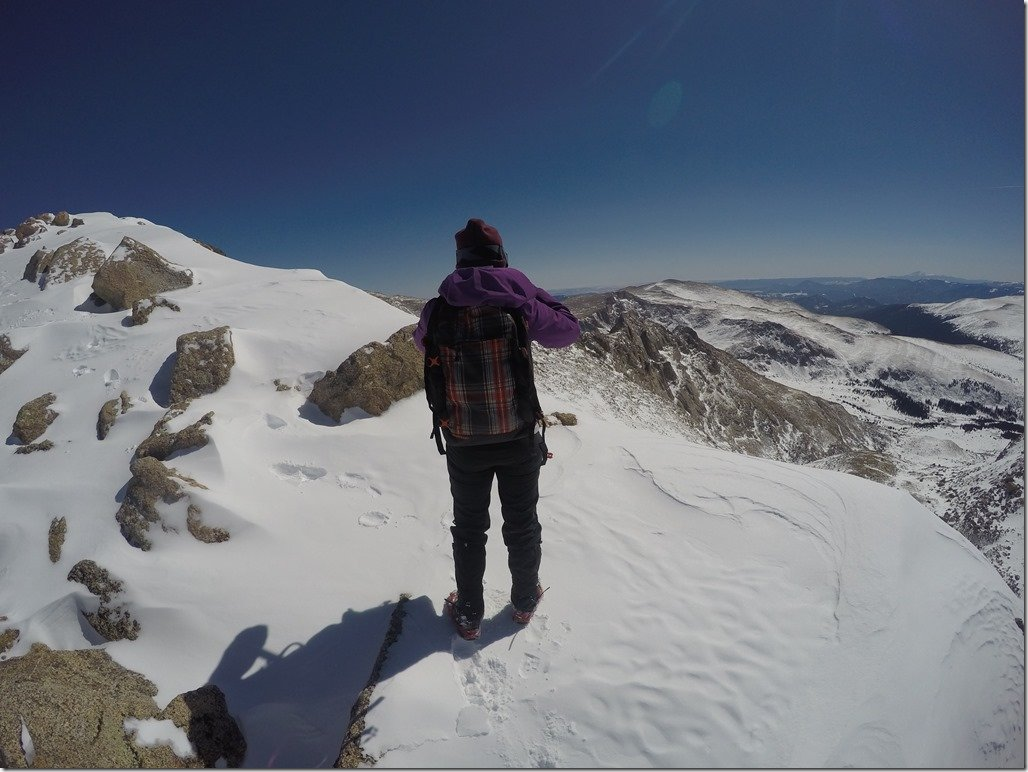 Almost to the summit!